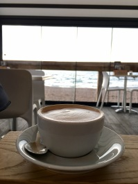 Coffee at Southsea Beach Cafe